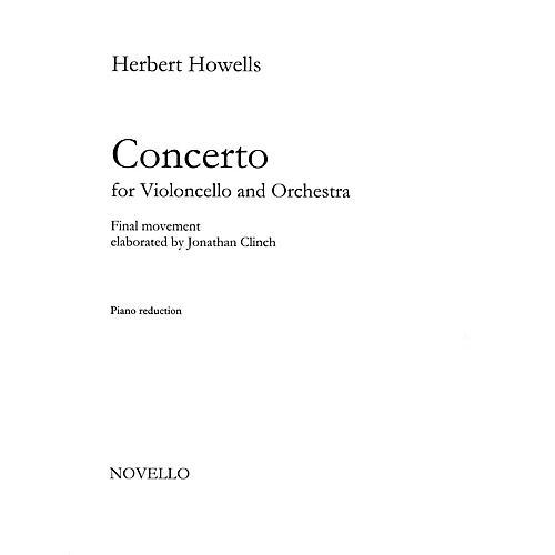 Novello Concerto for Cello and Orchestra Music Sales America Series Softcover