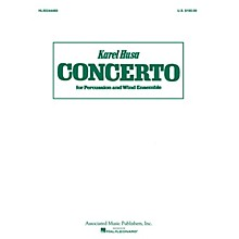Associated Concerto for Percussion and Wind Ensemble (Score and Parts) Concert Band Level 4-5 Composed by Karel Husa