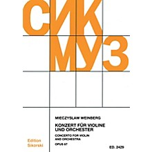 Sikorski Concerto for Violin and Orchestra, Op. 67 Study Score Series Softcover Composed by Mieczyslaw Weinberg