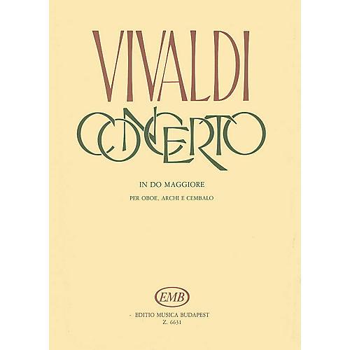 Editio Musica Budapest Concerto in C Major for Oboe, Strings, and Continuo, RV 451 EMB Series by Antonio Vivaldi