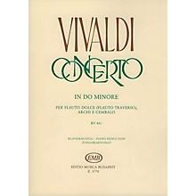 Editio Musica Budapest Concerto in C Minor for Flute, Strings and Continuo, RV 441 EMB Series by Antonio Vivaldi