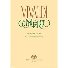 Editio Musica Budapest Concerto in C for 2 Trumpets, Strings & Harpsichord, RV 537 EMB Series by Antonio Vivaldi