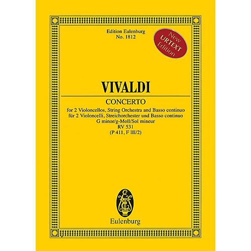Eulenburg Concerto in G minor RV 531 (P 411, F III/2) Study Score Series Softcover Composed by Antonio Vivaldi