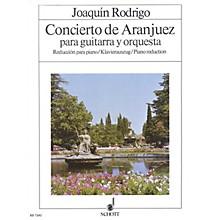 Schott Concierto de Aranjuez (Guitar with Piano Reduction) Schott Series