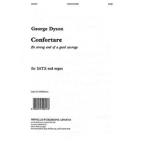 Novello Confortare SATB Composed by George Dyson