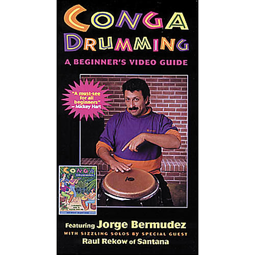 Mel Bay Conga Drumming - A Beginners Video Guide