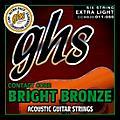 GHS Contact Core Bright Bronze Medium Acoustic Guitar Strings (11-50) thumbnail