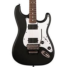 Contemporary Active Stratocaster HH Rosewood Fingerboard Electric Guitar Flat Black