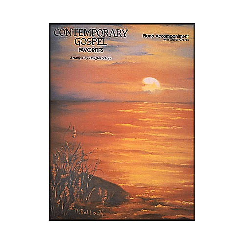 Hal Leonard Contemporary Gospel Favorites for Piano And Guitar