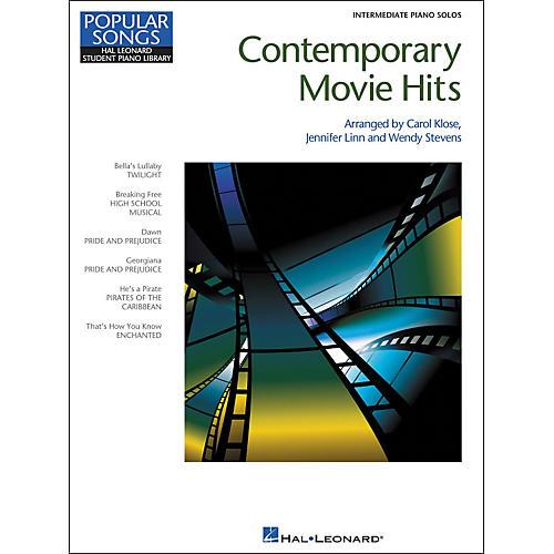 Hal Leonard Contemporary Movie Hits - Hal Leonard Student Piano Library Popular Songs Series - Intermediate Level
