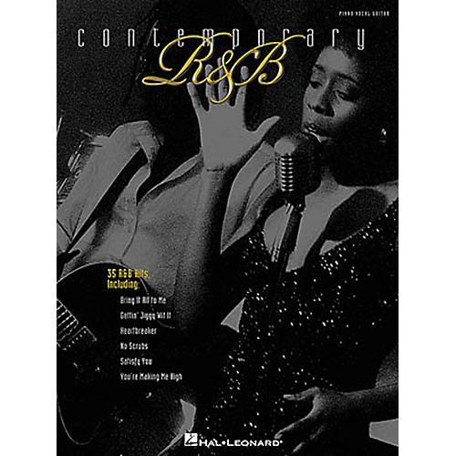 Hal Leonard Contemporary R&B Piano, Vocal, Guitar Songbook