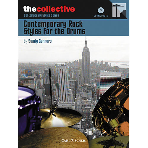Carl Fischer Contemporary Rock Styles for the Drums Book/CD