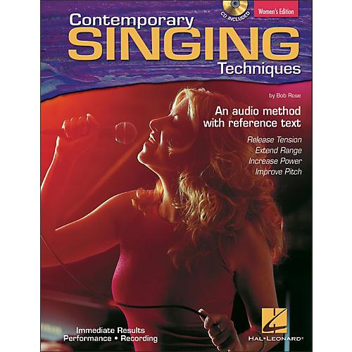 Hal Leonard Contemporary Singing Techniques - Women's Edition Book/CD