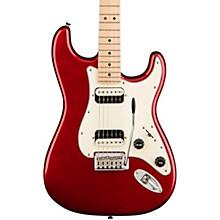 Contemporary Stratocaster HH Maple Fingerboard Electric Guitar Dark Metallic Red