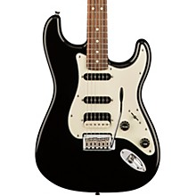 Contemporary Stratocaster HSS Rosewood Fingerboard Electric Guitar Black Metallic