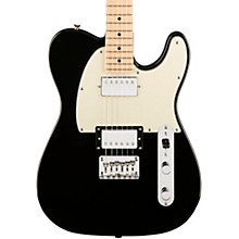 Contemporary Telecaster HH Maple Fingerboard Electric Guitar Black Metallic