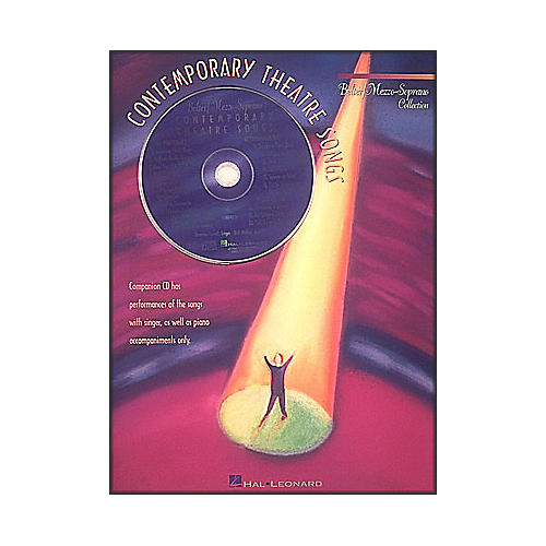 Hal Leonard Contemporary Theatre Songs Belter Mezzo-Soprano Book/CD