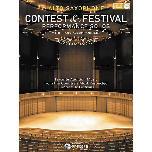 Carl Fischer Contest And Festival Performance Solos Book/CD