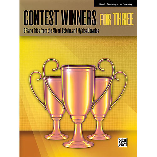 Alfred Contest Winners for Three Book 1 Elementary / Late Elementary Piano