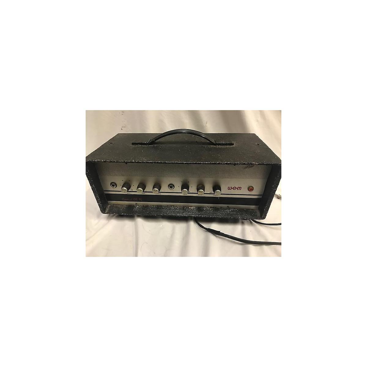 Wem Control ER15 Bass Amp Head