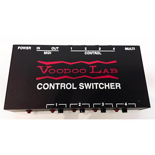 Voodoo Lab Control Switcher Effect Processor