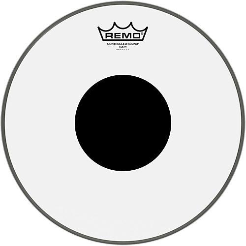 Remo Controlled Sound Black Dot Batter Head