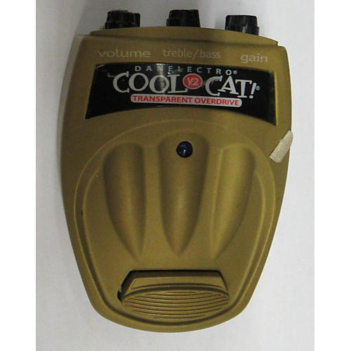 Danelectro Cool Cat CO2 Overdrive V2 Effect Pedal