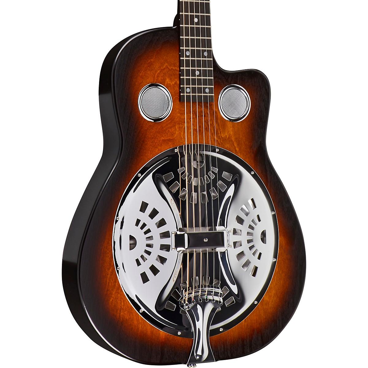 Beard Guitars Copper Mountain Roundneck Single Pickup Acoustic-Electric Resonator Guitar