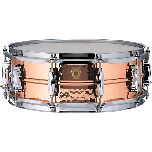 Ludwig Copper Phonic Hammered Snare Drum