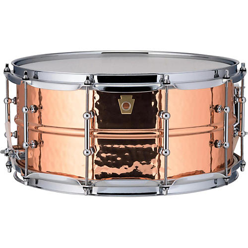 ludwig copper phonic hammered snare drum guitar center. Black Bedroom Furniture Sets. Home Design Ideas