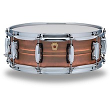Copper Phonic Smooth Snare Drum 14 x 5 in. Raw Smooth Finish with Imperial Lugs