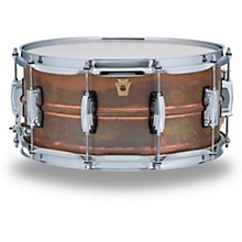 Copper Phonic Smooth Snare Drum 14 x 6.5 in. Raw Smooth Finish with Imperial Lugs