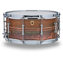 Copper Phonic Smooth Snare Drum 14 x 6.5 in. Raw Smooth Finish with Tube Lugs