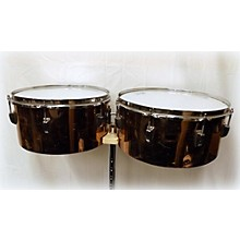 Ludwig Copper Timbale Set Timbales