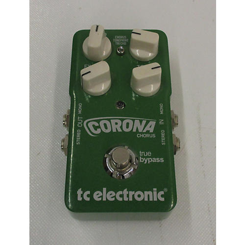 used tc electronic corona chorus effect pedal guitar center. Black Bedroom Furniture Sets. Home Design Ideas