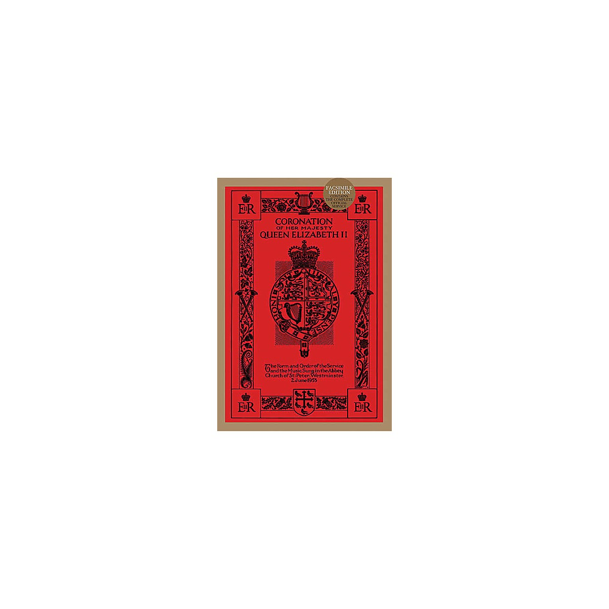 Novello Coronation of Her Majesty Queen Elizabeth II (Facsimile Edition) SATB