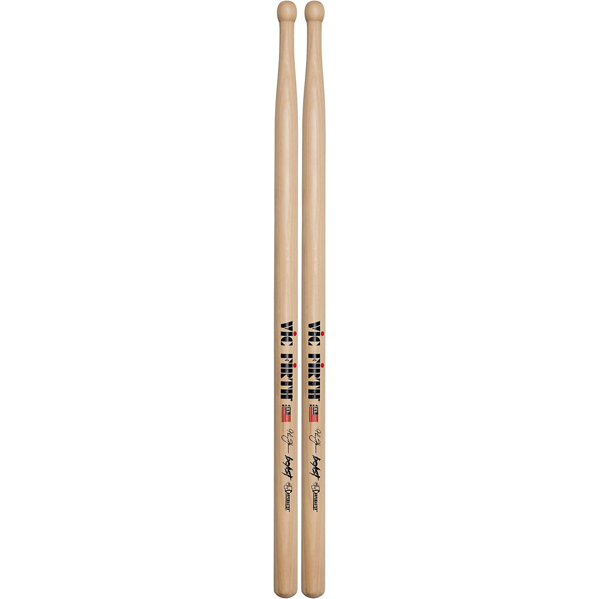 "Vic Firth Thom Hannum /""Beast/"" Marching Snare Drum Sticks"
