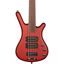 Corvette $$ 5-String Electric Bass Guitar with Wenge Fingerboard Level 1 Burgundy Red