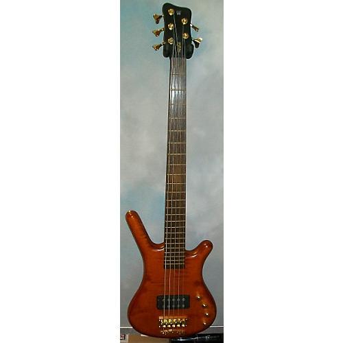 Warwick Corvette Single Buck 5 String Electric Bass Guitar