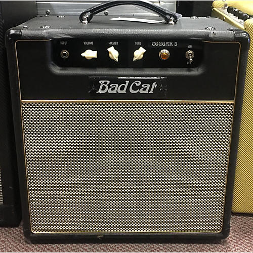 used bad cat cougar 5 class a 5w 1x12 tube guitar combo amp guitar center. Black Bedroom Furniture Sets. Home Design Ideas