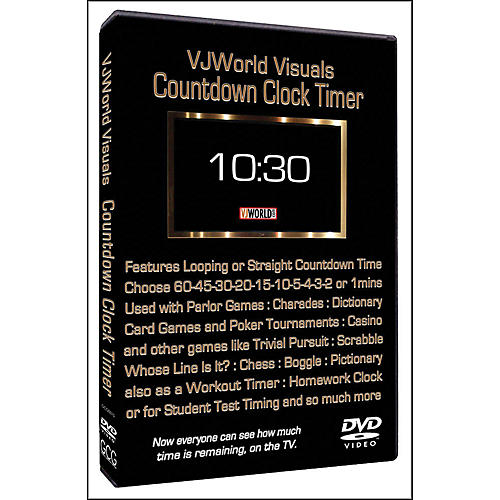 Hal Leonard Countdown Clock Timer VJ World Visuals