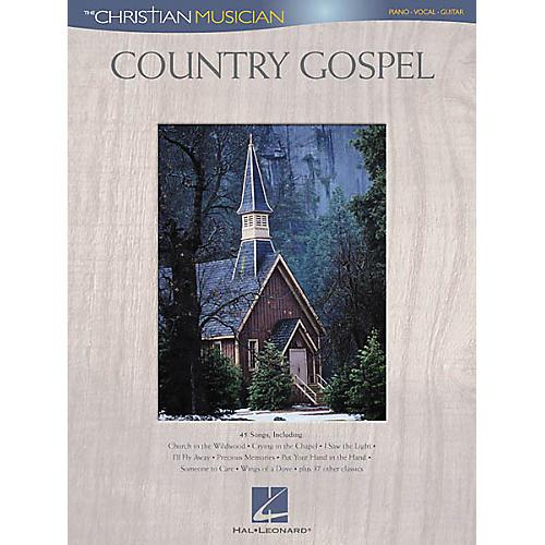 Hal Leonard Country Gospel Piano/Vocal/Guitar Songbook