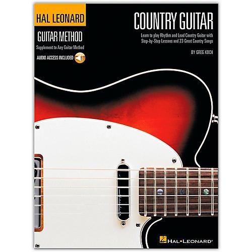 Hal Leonard Country Guitar Method (Book/Online Audio)
