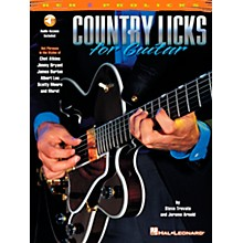 REH Country Licks for Guitar (Book/Online Audio)