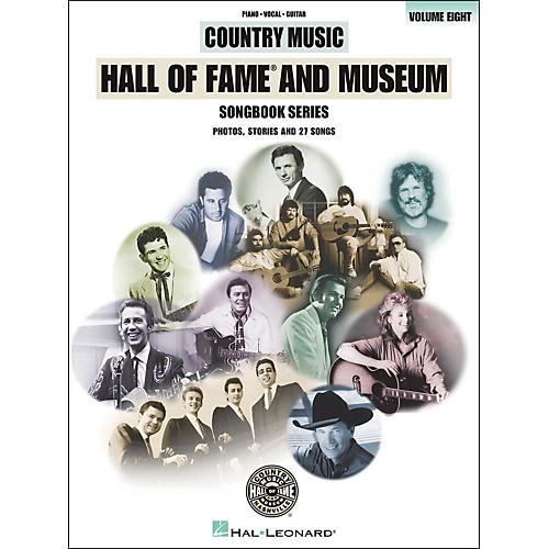 Hal Leonard Country Music Hall Of Fame And Museum - Volume 8 arranged for piano, vocal, and guitar (P/V/G)
