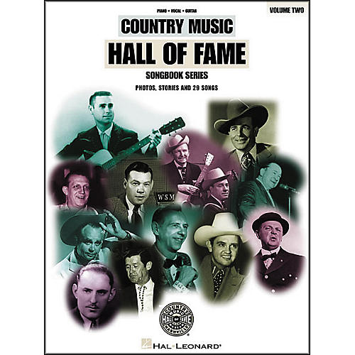Hal Leonard Country Music Hall Of Fame Volume 2 Piano/Vocal/Guitar Songbook