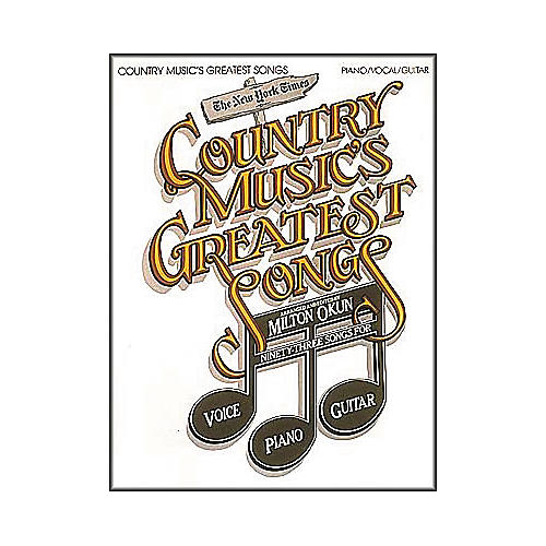 Cherry Lane Country Music's Greatest Songs Book