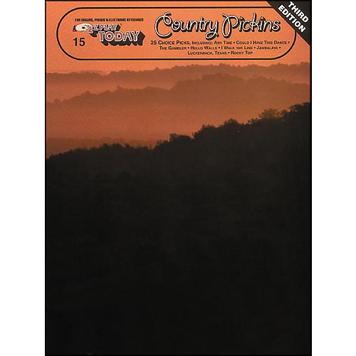 Hal Leonard Country Pickins 3rd Edition E-Z Play 15