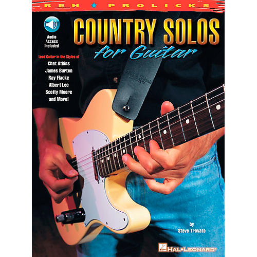 REH Country Solos for Guitar (Book/CD)