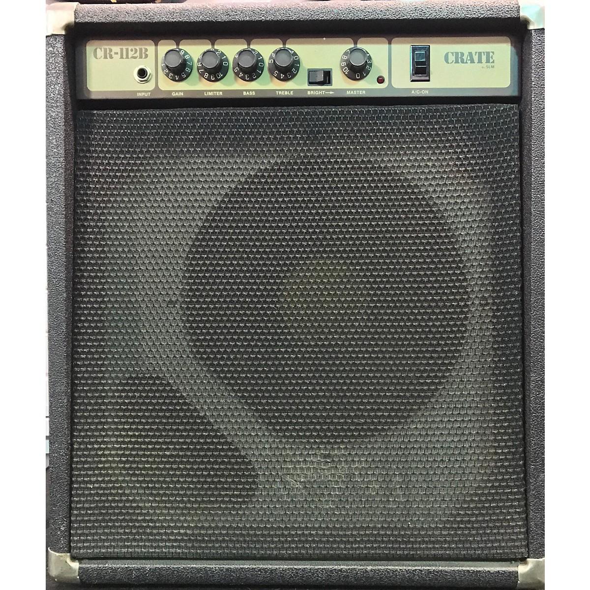Crate Cr112b Bass Combo Amp